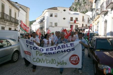 Manifestación del 14 de junio de 2011 por la Trinidad