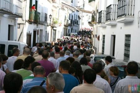 Manifestación del 14 de junio de 2011 por la calle Toledo