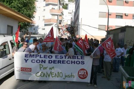 La manifestación del 16 de junio de 2011, por la calle Pasadilla