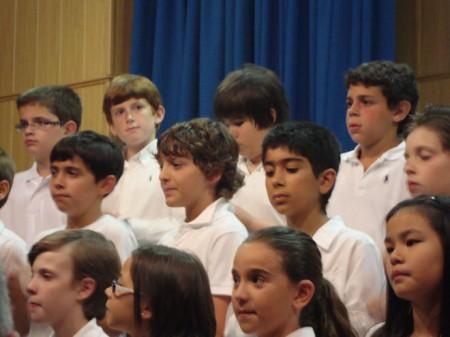 Algunos integrantes del Coro de Voces Blancas (Foto: Merci)