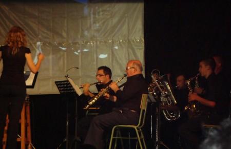 Concierto de la Banda Académica en el IES Francisco Fatou