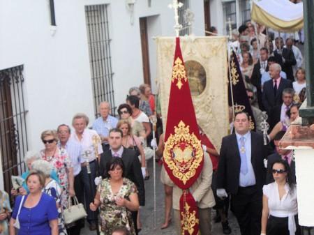 La procesión del Corpus (Foto: Merceditas)