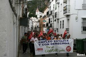 Manifestación de petaqueros el 7 de junio de 2011