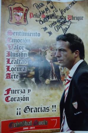 Cartel de homenaje