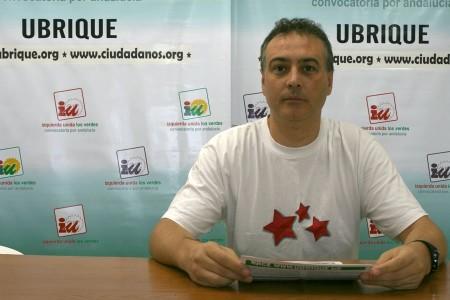 Manuel Ramírez, nuevo secretario del grupo municipal de Izquierda Unida.
