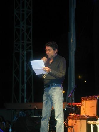 Joaquín Sabina, en El Bosque.