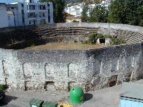 Antigua plaza de toros de Ubrique.