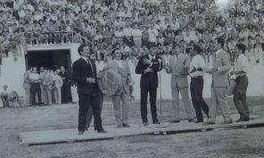 Actuación de Los Ratas en la antigua plaza de toros.