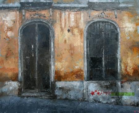 Obra ganadora (Foto: Pintores de Ubrique)