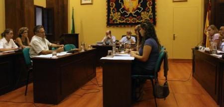 Pleno municipal del 29 de septiembre de 2011.