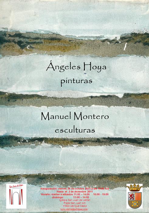 Exposición de obras de Ángeles Hoya y de Manuel Montero