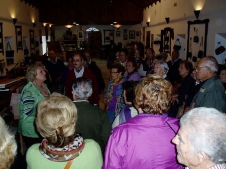 Visita de Turismo Social de Málaga al Museo de la Piel de Ubrique (Foto: Paco Solano).
