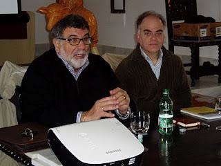 Luis García Bravo y Fernando Sígler.
