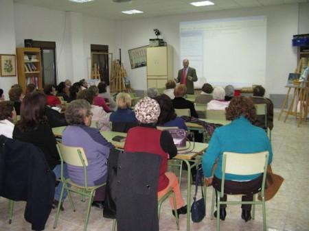 Sesión celebrada el jueves 2 de febrero de 2012 en  el Centro de Educación Permanente de Adultos de Ubrique.