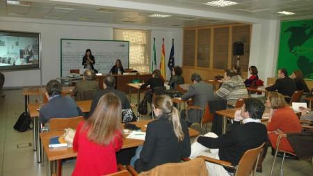 Participantes en el seminario.