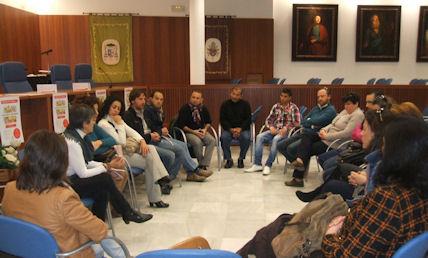 Intervención de Mª Carmen López en la V Semana de la Pobreza.