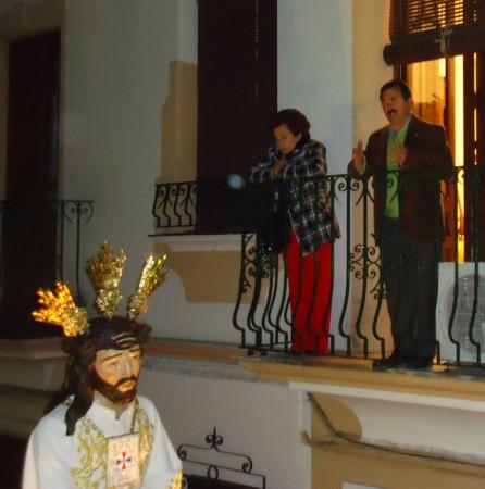Interpretación de una saeta a Jesús Cautivo.