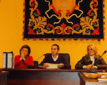Pepi Gloria Pérez, Antonio Mateos y Josefina Herrera.