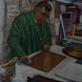 Cuadro de Miguel López Salas.
