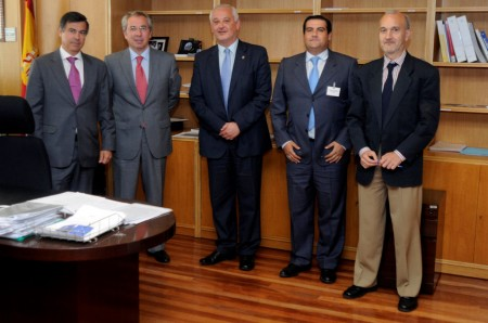 Participantes en la reunión.
