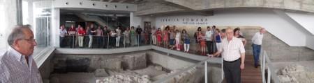 Visita de la expedición ubriqueña a la ciudad romana de Nabrissa Veneria.