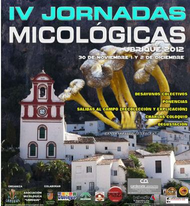 IV jornadas micológicas de Ubrique.