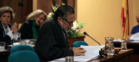 El portavoz de IU, José García Solano (Foto: http://www.iu-ubrique.org).