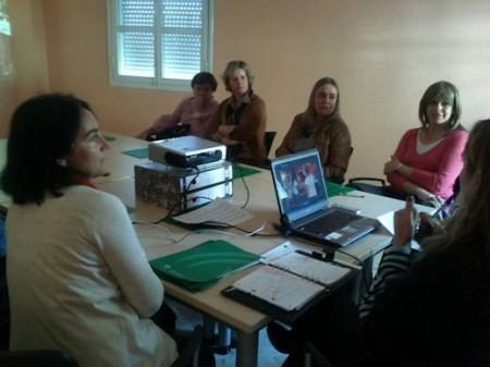 Participantes en el encuentro.