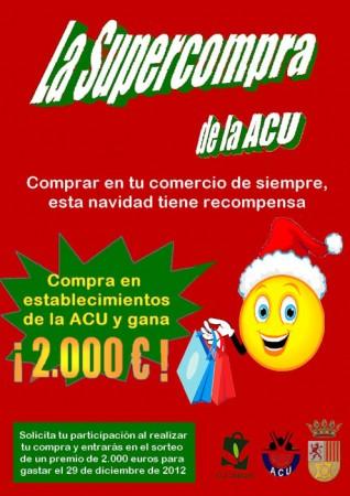 Cartel de la campaña promocional de navidad de la Asociación de Comerciantes de Ubrique.