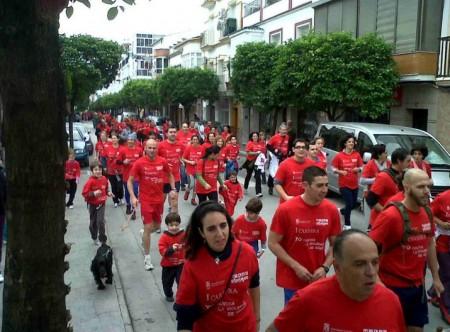 Participantes en la carrera (Foto: www.ayuntamientoubrique.es).
