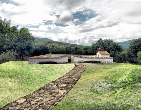 Cementerio de la Sauceda, recién rehabilitado.