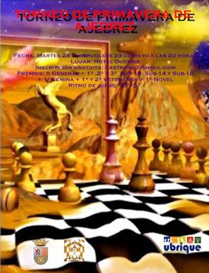 Cartel del torneo.
