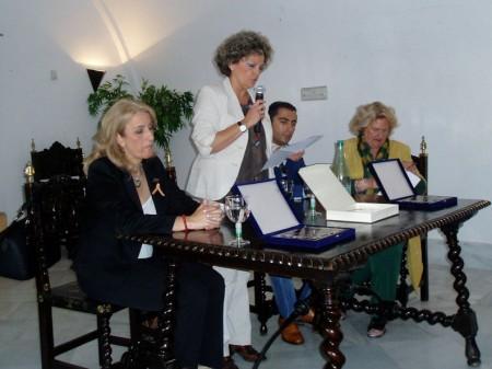 La concejal Pepi Gloria Pérez, durante su intervención.