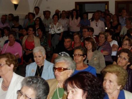 Público asistente al Homenaje al Petaquero.