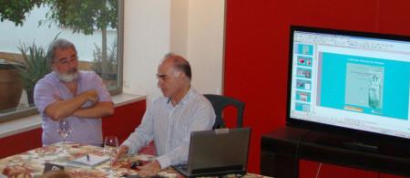 Fernando Sígler y Luis Javier Guerrero (Foto: Jesús Román).