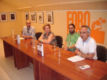 Rafael Ramos Jaén, durante su intervención en la presentación del libro.
