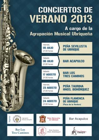 Conciertos de Verano de la Agrupación Musical Ubriqueña