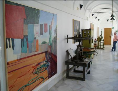 Exposicion en el claustro del Convento (Foto: Paco Solano).