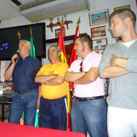 El alcalde, Manuel Toro, clausura el acto.