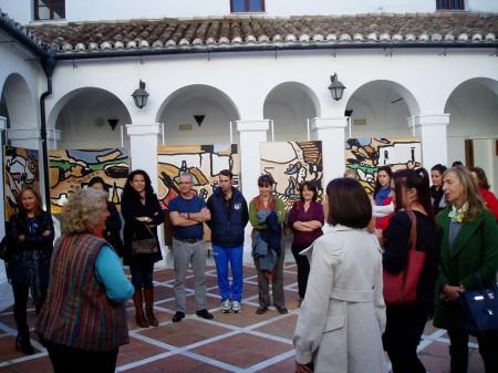 Visita de emprendedores al Museo de la Piel (Foto: Paco Solano).