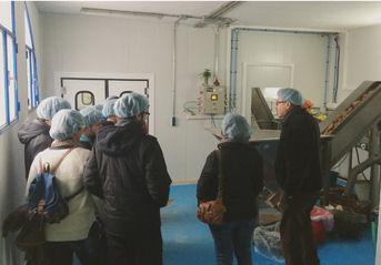 Participantes en la visita.