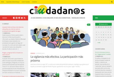 Captura de la web Ciudadanos.