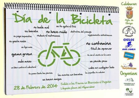 Cartel del Día de la Bicicleta.