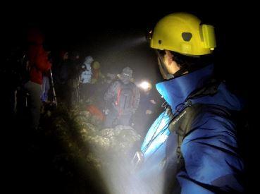 Operación de rescate (Foto: Juan José Gómez).