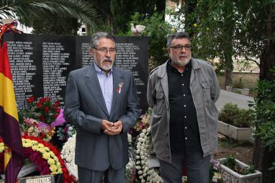 José García Solano y Luis García Bravo (Foto: iu-ubrique.org).