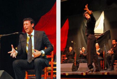 Los ganadores en cante y baile (Fotos: Peña Flamenca de Ubrique).