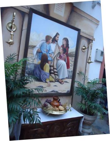 Altar de la calle Real.