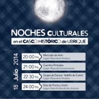 Cartel de las Noches Culturales.