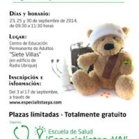 I Taller de primeros auxilios y enfermedades en niños