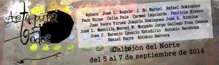 'Arte para todos', en el Callejón del Norte